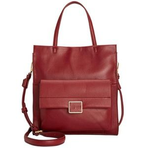 Kenneth Cole Christie Tote Leather NWT Port